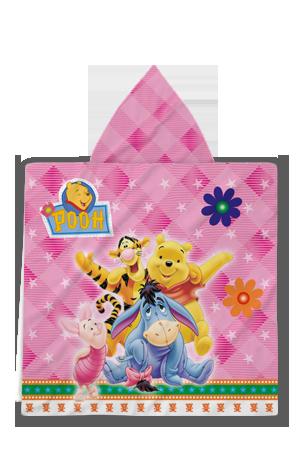 халати-за-баня-Poncho-Pooh-pink-back