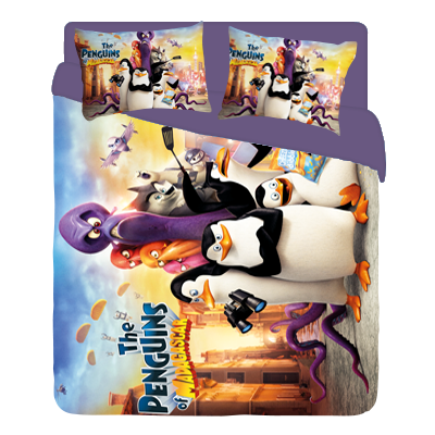 Pinguins BED lilav