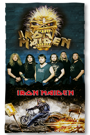 Хавлиени кърпи Iron Maiden