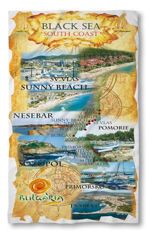 Хавлиени кърпи Западно черноморие