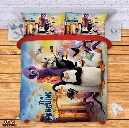 Спално бельо Пингвини
