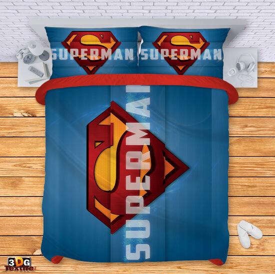 Спално бельо Супермен