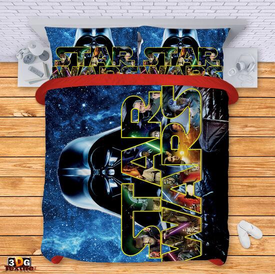 Спално бельо Междузвездни войни