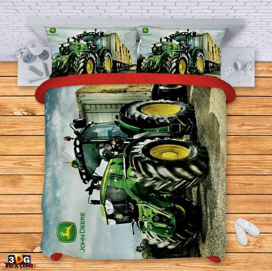 Спално бельо Джон Диър трактор