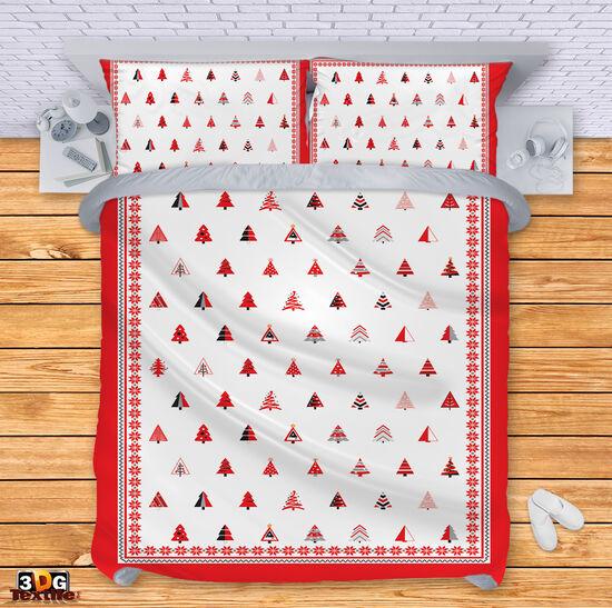 Спално бельо Коледни Елхи