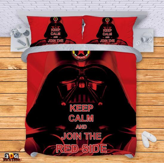 Спално бельо Червената страна