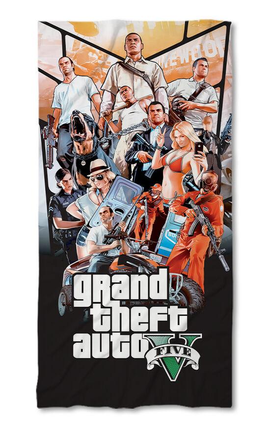Хавлиена кърпа GTA V 2