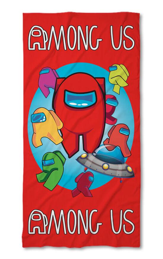 Хавлиена кърпа Among Us Червена 2021