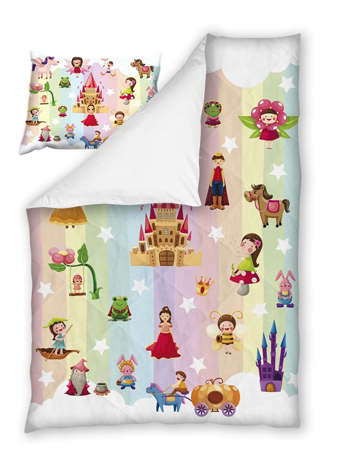 Бебешки спален комплект Приказка 100% памук