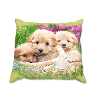Възглавница Кученца в кошница