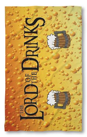 Хавлиена кърпа Lord of Drinks 2