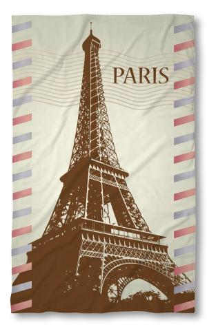 Хавлиена кърпа Париж