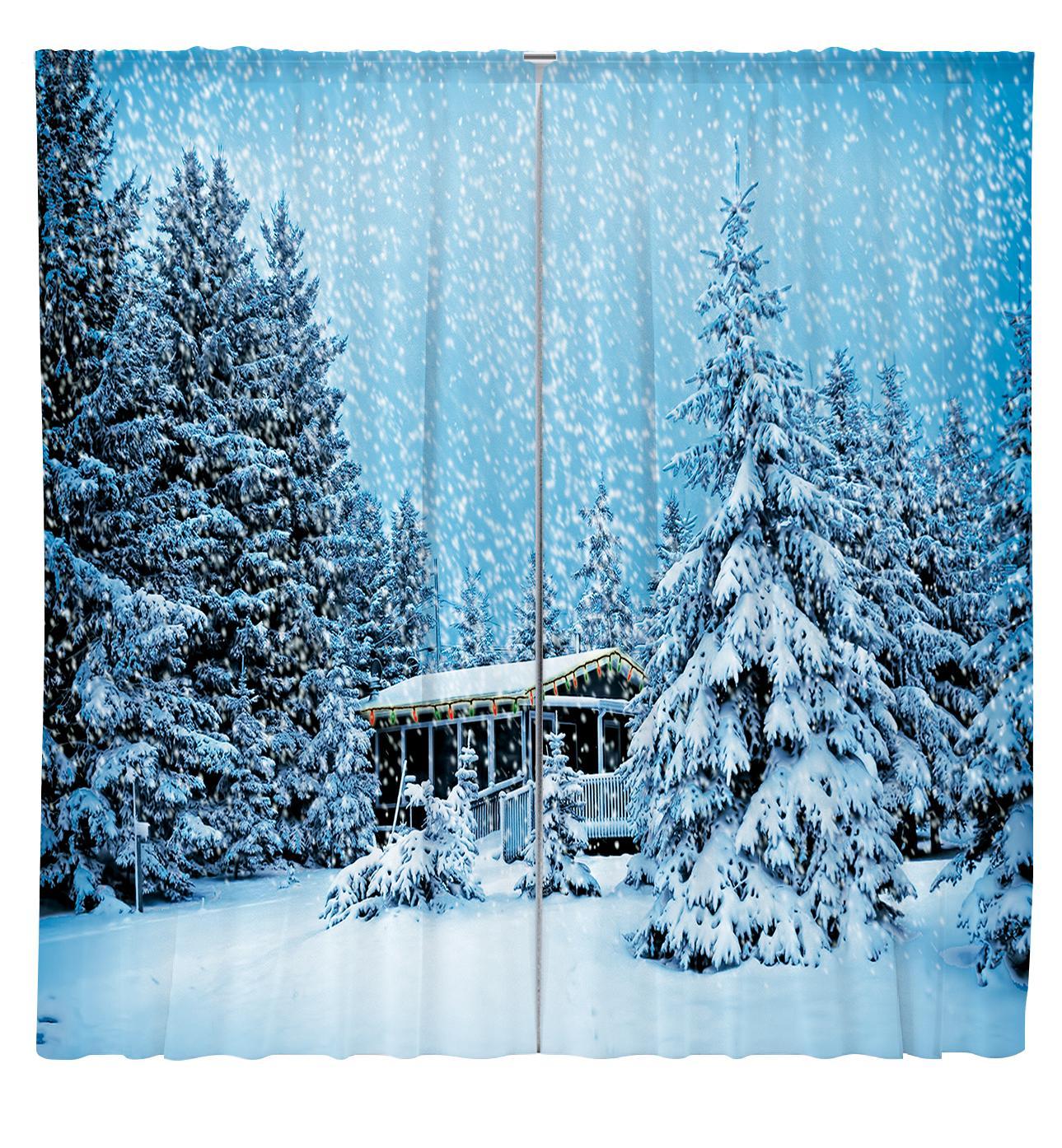 Завеси Зима