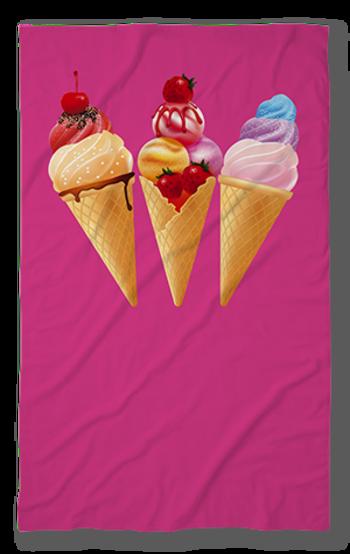 Хавлиена кърпа Сладолед