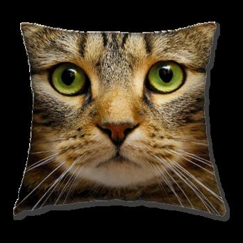 Възглавница Кафява Котка