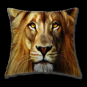 Възглавница Лъв 3D