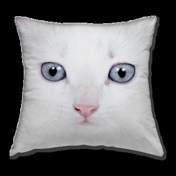Възглавница Бяло Коте