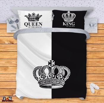 Спално бельо Крал и Кралица 2018