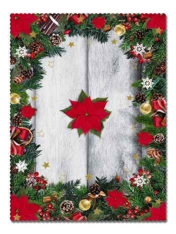 Покривка Коледна звезда