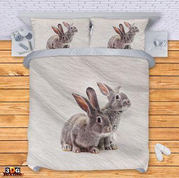 Спално бельо Сладки зайчета