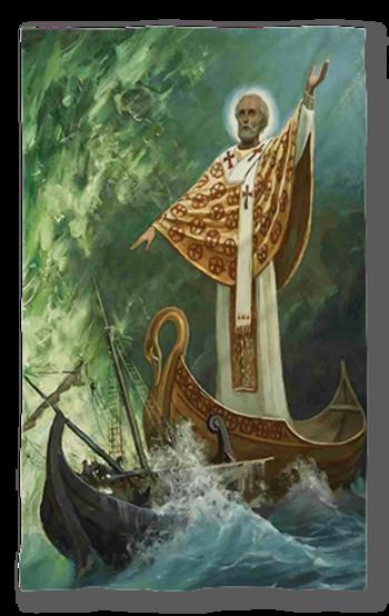Хавлиена кърпа Свети Николай