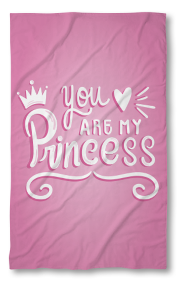 Хавлиена кърпа Принцеса