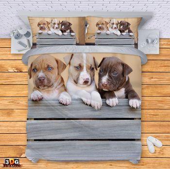 Спално бельо Сладки кученца