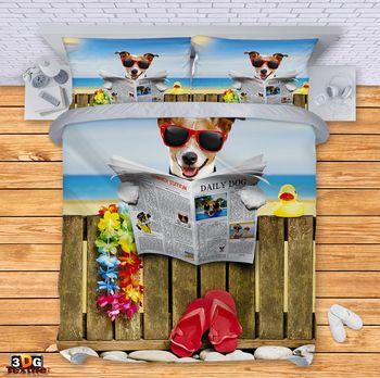 Спално бельо Куче на ваканция