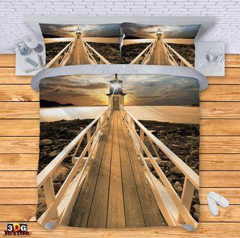 Спално бельо Фар на моста