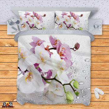 Спално бельо Орхидеи
