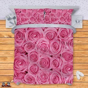Спално бельо Розови рози