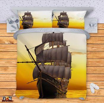 Спално бельо Кораб в морето