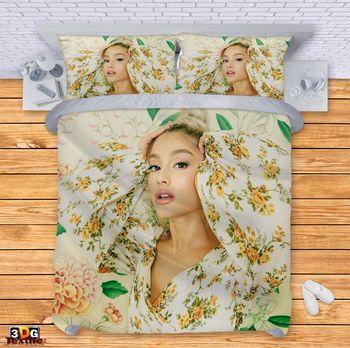 Спално бельо Ариана Гранде цветя