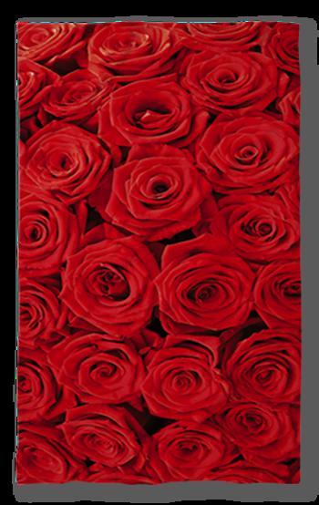 Хавлиена кърпа 8ми Март Червени Рози