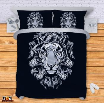 Спално бельо Сребрист Лъв