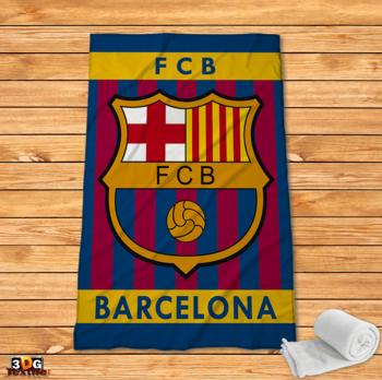 Поларено одеяло Принт Барселона