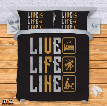 Спално бельо Живей и обичай Live Life Like
