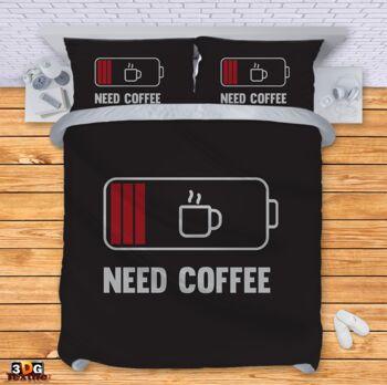 Спално бельо Нужда от кафе Need Coffee