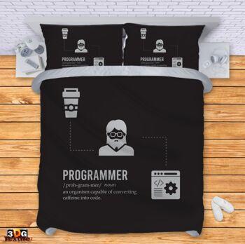 Спално бельо Програмист Programmer