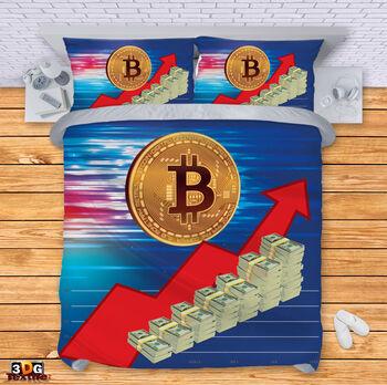 Спално бельо Биткойн Bitcoin