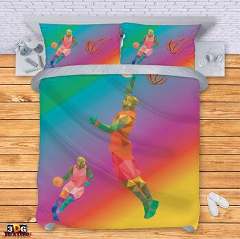 Спално бельо Баскетболен играч