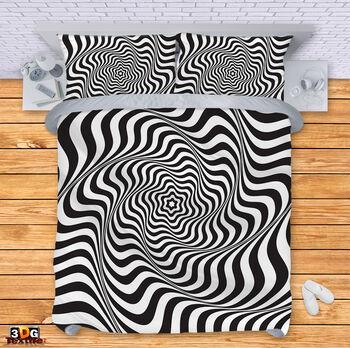 Спално бельо Черно-Бяла Илюзия 2