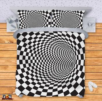 Спално бельо Черно-Бяла Илюзия 4