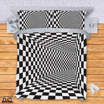 Спално бельо Черно-Бяла Илюзия 5