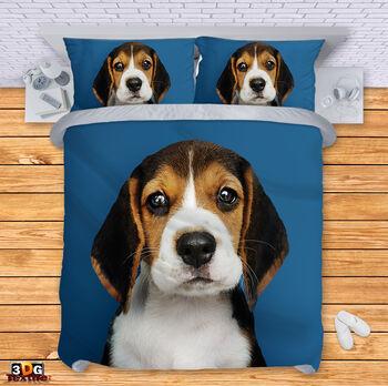 Спално бельо Кученце 2