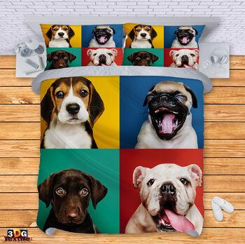 Спално бельо Забавни Кучета