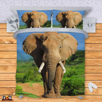 Спално бельо Слон 2