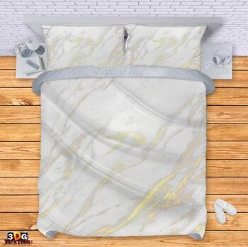 Спално бельо Бял Мрамор 2