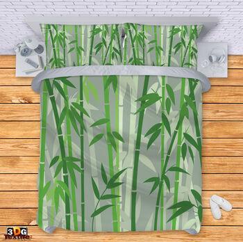 Спално бельо Зелен Бамбук