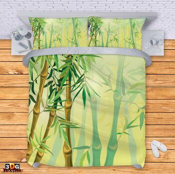 Спално бельо Зелен Бамбук 2